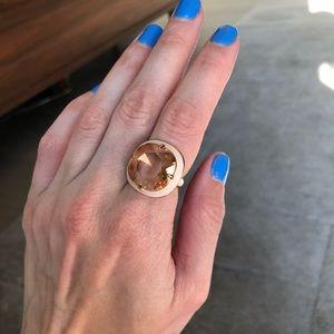 J. Crew pink ring